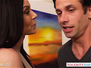 warm Kendra passion gets ample udders boinked