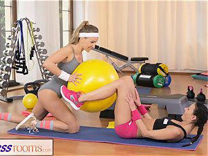 FitnessRooms 2 lezzy Gym counterparts exercise