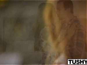 TUSHY very first double penetration For redhead Kimberly Brix