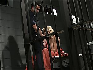 Jailhouse rock with Lexi who likes to guzzle