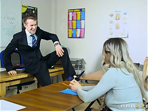 fabulous schoolgirl Carly Rae gets screwed by a immense dicked tutor