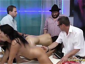 extraordinary naughty german groupsex intercourse