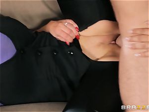 Nikki Benz and Bridgette B get filthy with the security guy
