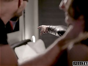 pure TABOO Emily Willis Accepts customer For rough orgy