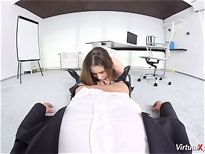 cute Elle Rose point of view smashed