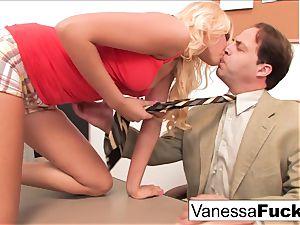 Vanessa cage romps the schoolteacher
