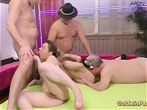 bukkake groupsex shag fucky-fucky