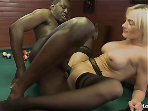 LA beginner - super-hot bi-racial anal invasion with super-sexy French stunner