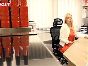 LETSDOEIT - red-hot assistant pounded hard-core At casting