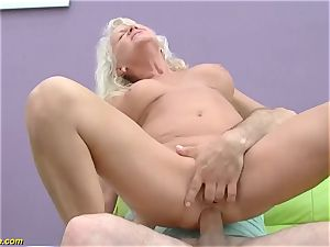 cool 73 years elder mom first-ever large manstick ass fucking pound