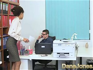 Dane Jones fantastic teen ebony office female