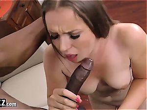 pallid Russian stunner wants to be in the big black cock club