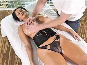 fat donk chesty milf Ava Addams gets her well-lubed muff torn up