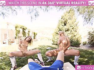 VR PORN-Busty milf Bridgette B