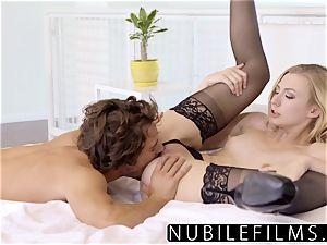 NubileFilms - horny blondie Alexa grace heavy orgy
