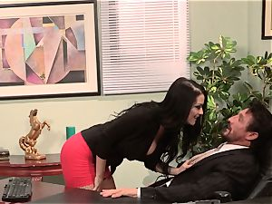 assistant Katrina Jade fucks her sizzling chief at work