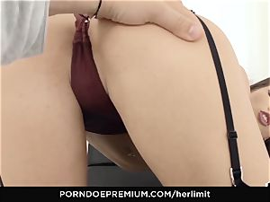 HER restrict - Lovenia Lux hard-core ass fucking tear up and gape