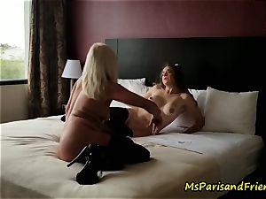 The motel room Strippers fuck-fest with Ms Paris Rose