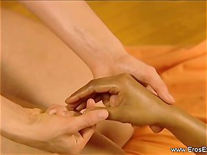Slow sensual massage grope For damsels