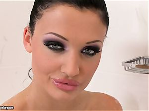 drenching humid Aletta Ocean perceives so super-naughty in her tub she can't wait to have fun molten