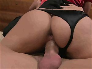 Kathia Nobili gets an assful of penis