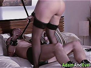 Krissy Lynn dominates her colleague