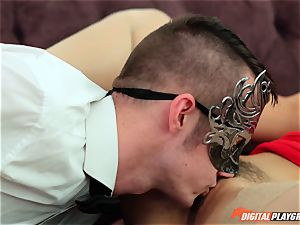 masked dominatrix Eva Lovia crave pecker