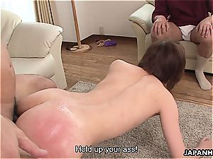cheating japanese wife humped in a raw session