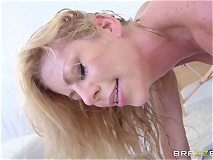 red-hot ash-blonde doctor Alexis Fawx