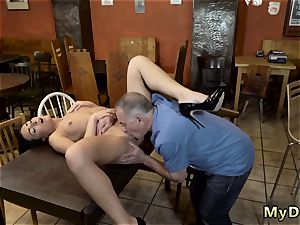 elderly guy young hd Can you trust your gf leaving her alone with your dad?