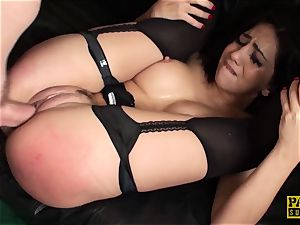 PASCALSSUBSLUTS - red-hot Julia de Lucia ball-gagged and nailed rock hard