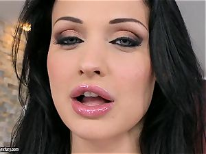 juicy red-hot Aletta Ocean can tease every man she wants with those unbelievable melons