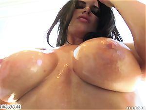 Romi Rain - bang my brazilian huge lubricated rump now!