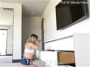 NANNYSPY all girl babysitter Caught Stealing