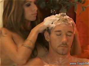 bearing Golden massage mummy blonde