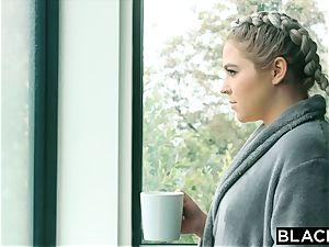 BLACKED bodacious platinum-blonde Has Secret fuckfest With Married bbc