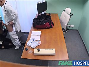 FakeHospital muddy doc pummels thief and creampies her