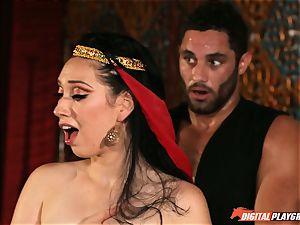 Arabian warm molten labia enjoyments with Aria Alexander