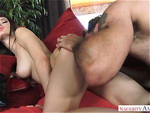 Lana Rhoades getting boned by a humungous fuckpole