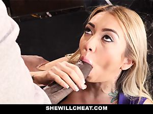 SheWillCheat - mega-bitch wifey Cheats With big black cock