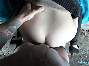 Public Agent Outdoor fuck-a-thon with Russian nubile Anna Rey