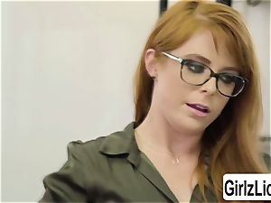 scorching Therapist Penny Pax gets her muff poked by client Whitney Wrights