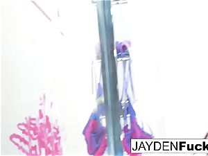 Jayden decides To play With Her extraordinaire cooch