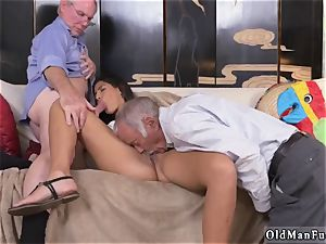 2 senior and blond chick penetrate first-ever time Going South Of The Border