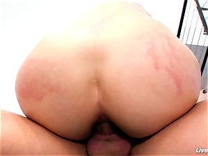 LiveGonzo Bobbi Starr red-hot brown-haired Does buttfuck For fun