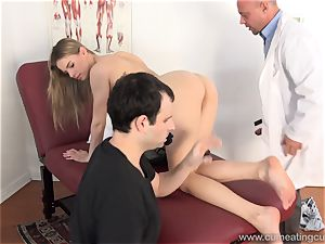 Jillian Gets porked By Real stud in Front of husband