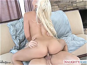 bodacious Bridgette B. filled with his penis